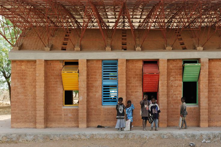 kere architecture · Gando School Extension · Divisare