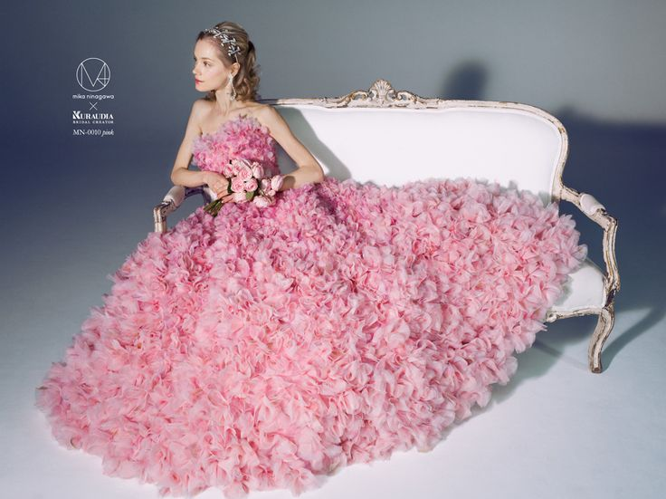 Wedding Dress Collection | Mika Ninagawa Official Site