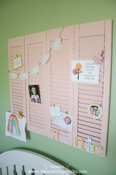 what a great idea for any part of the home