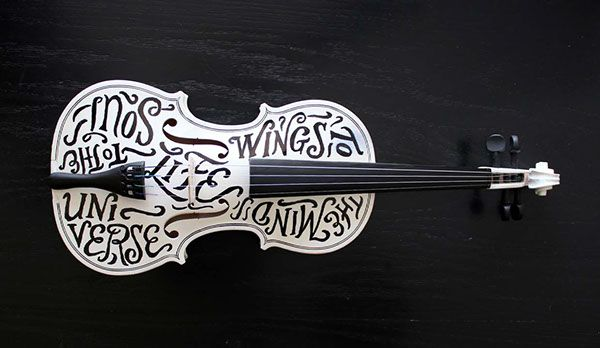 TypeLimited 001: Plato (Perhaps), Debussy, & A Violin. on Behance by Joseph Alessio