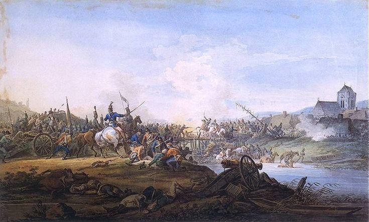 Battle Between Russians and Kosciuszko Forces in 1801 - Aleksander Orlowski
