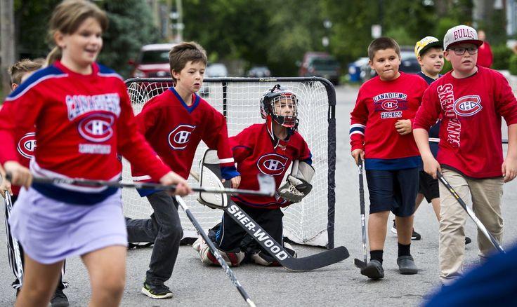 Hockey de rue: Les enfants pourront jouer s'ils respectent les ...