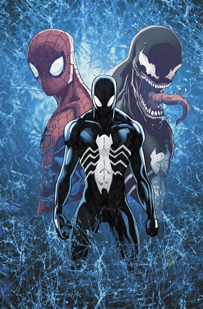 """3 Spiders - by Ross Hughes""""My colors over Chris Campana"""""""