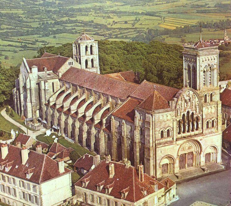 Basilique Sainte Madeleine, Vézelay, France