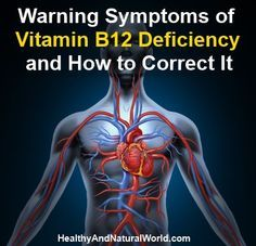 Warning Symptoms of Vitamin B12 Deficiency and How to Correct It