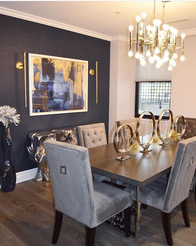 55 Dining Room Wall Decor Ideas: Dining Styled To Perfection 👌🏽courtesy Of