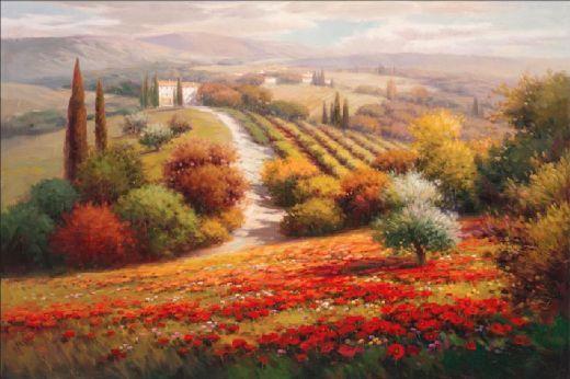 vineyard paintings - Buscar con Google