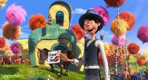 Photo of Once-ler in the movie The Lorax.