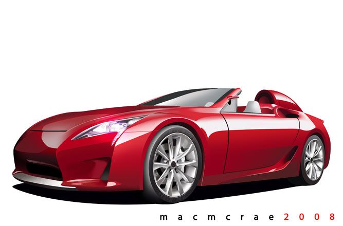 Vehicle Insurance Quotes >> concept car, Convertible Illustration, red convertible | My dream house | Pinterest ...