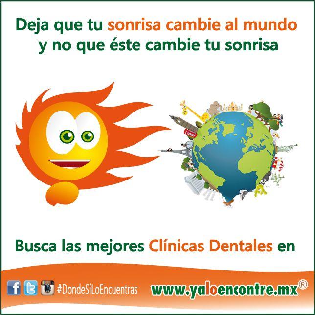 ¡Deja que tu Sonrisa Cambie al Mundo! #Servicios #ClínicasDentales #Sonrisa