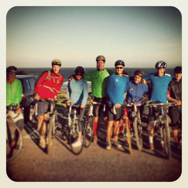Our first training ride: before