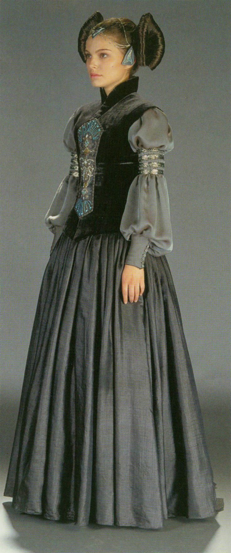 Padme - packing gown from Star Wars Episode II