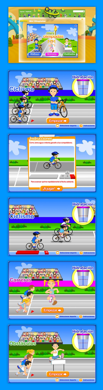 Juego Miniolimpiadas para Discovery Kids - #games