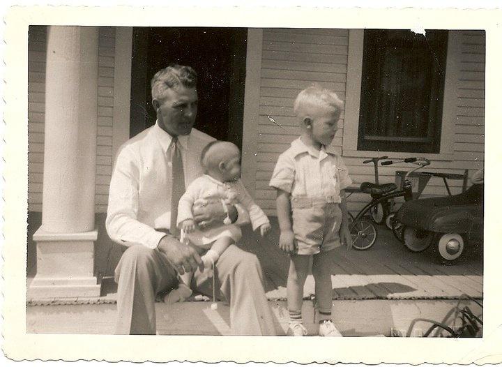 Grandad, dad, and Dianne
