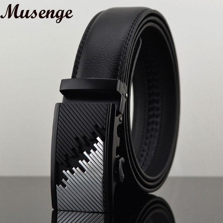 Belt Ceintures Ceinture Homme Designer Belts Men High Quality Real Leather Belt Men Automatic Patchwork Striped Black Kemerler