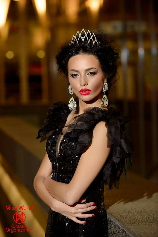 Miss World Romania 2014 - Bianca Fanu Delia Stamate Make up
