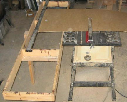 Free Table Saw Extension Plans - Free Panel Saw Plans