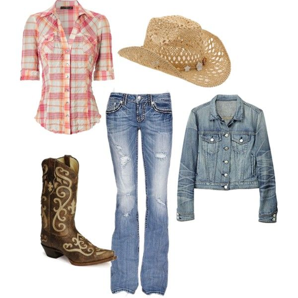 Country Girl By Duboiska On Polyvore Clothing Pinterest