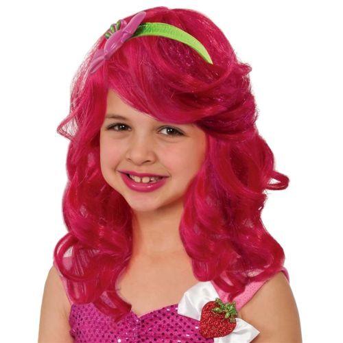 Strawberry Shortcake Wig for Kids Costume Halloween Fancy Dress
