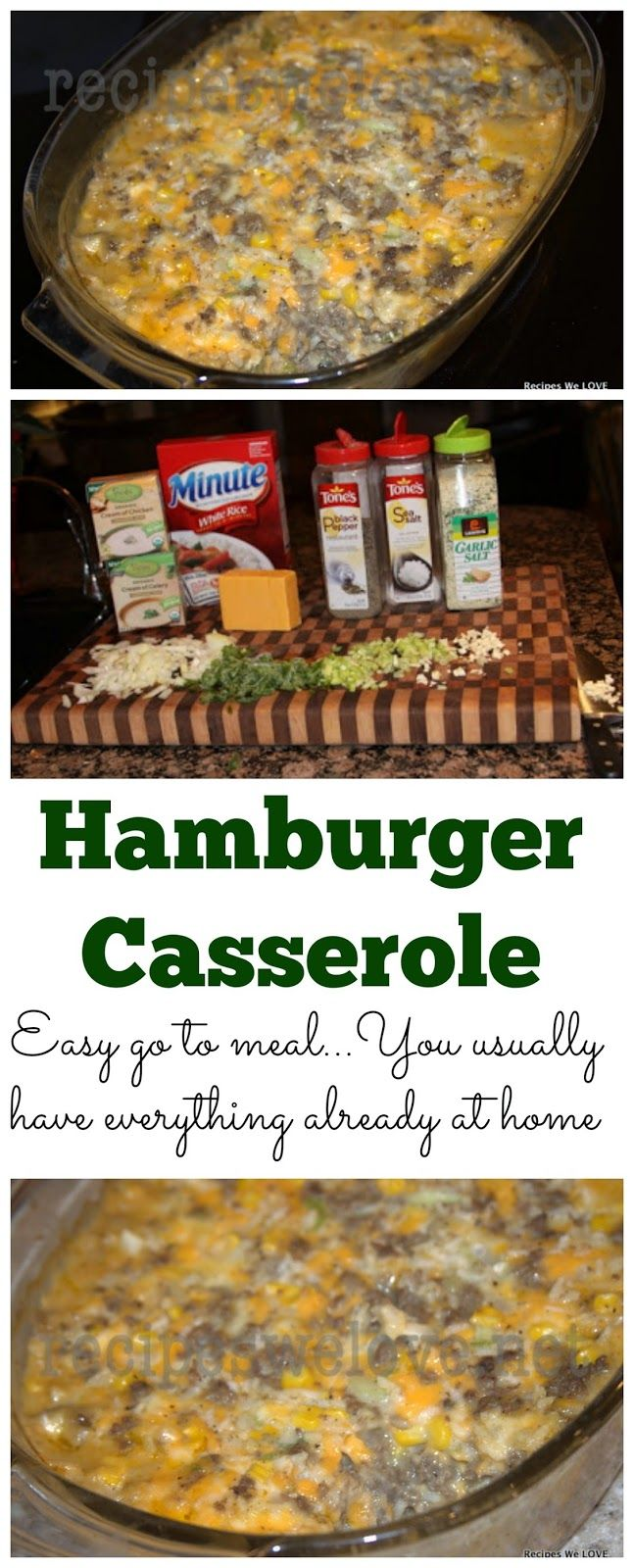 Recipes We Love: Hamburger Casserole