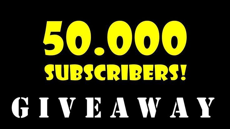 50.000 SUBSCRIBER GIVEAWAY! (3 free premium tanks + 12.000 gold)