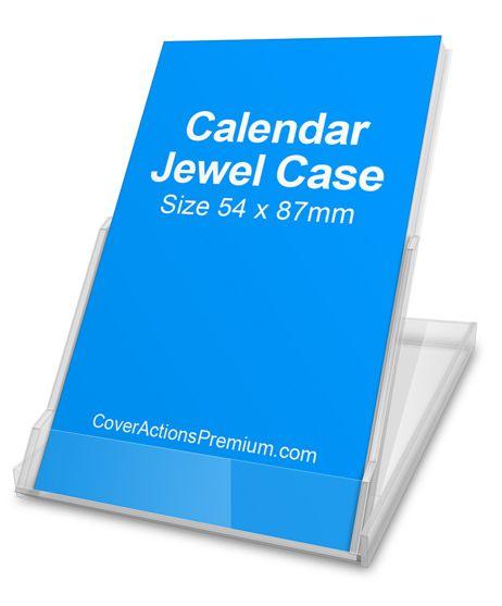 Mockup Free Download -Calendar Jewel Case