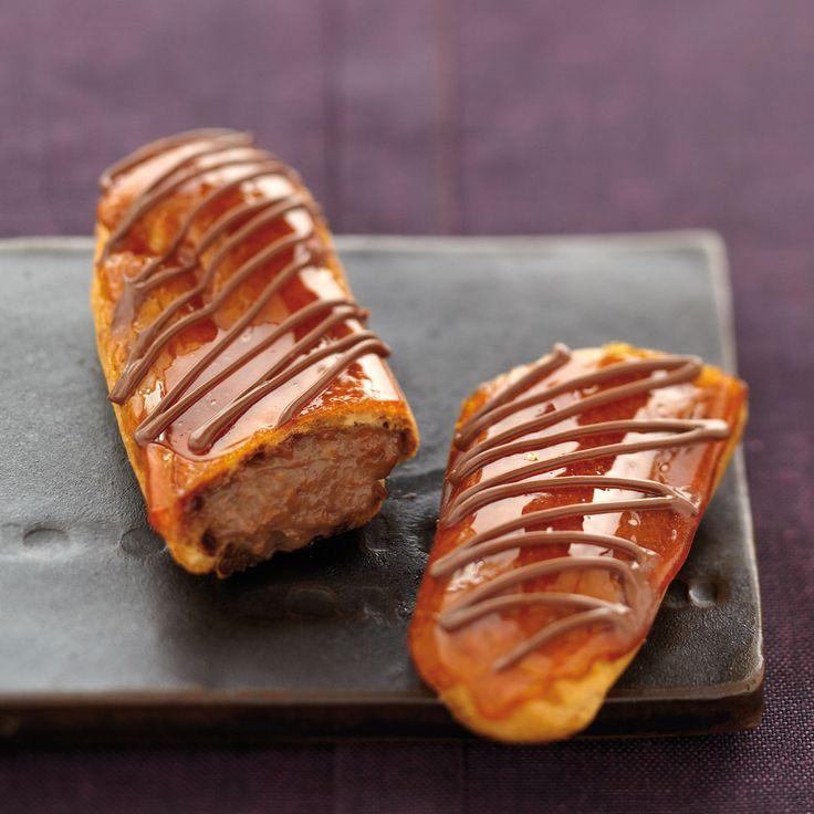 Découvrez la recette des éclairs au Nutella