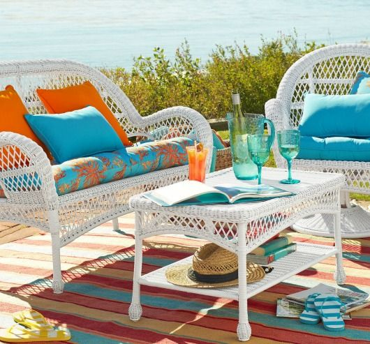 Superior Outdoor Coastal Beach Decor For The Summer | Furniture, Rugs, Pillows U0026  Adorable Accents