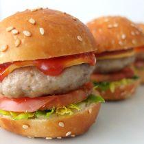 Receta de Cangreburgers