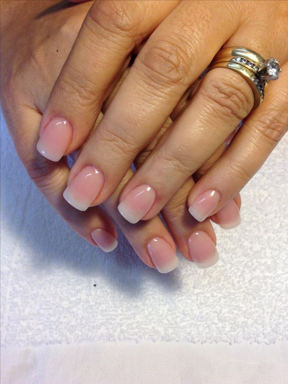 40 Classy Acrylic Nails That Look Like Natural #32 - Best 25+ Natural Nail Art Ideas On Pinterest Nude Sparkly Nails