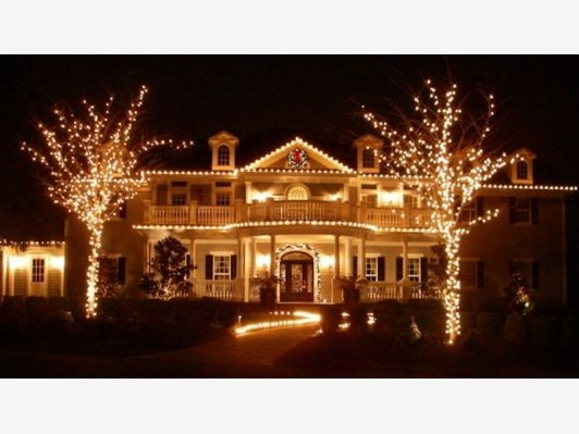 72 best images about Holiday Curb Appeal with Lights on Pinterest