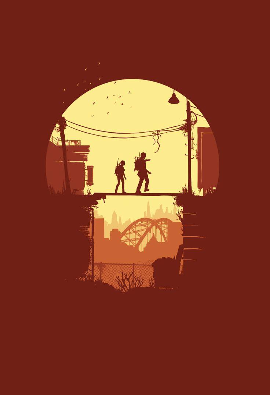 The Last of Us Fan Art - By Brandon Meier he is so talented his art is so powerful