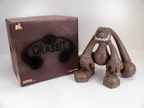 Grabbit - Wood Limited edition - run of 300. Certificate of Authenticity signed by Touma.