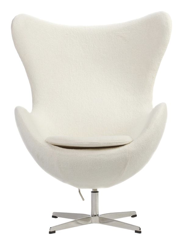 Невероятно удобное и элегантное кресло Egg, созданное в 60-е годы 20 века стало подлинной иконой стиля и символом датского дизайна. Его необыкновенная форма удивительным образом вписывается в любой интерьер, создавая островок уединения и уюта даже в самом оживленном месте.             Метки: Кресла для дома, Кресла с высокой спинкой, Кресло для отдыха.              Материал: Металл, Ткань.              Бренд: DG Home.              Стили: Лофт, Скандинавский и минимализм.              Цвета…