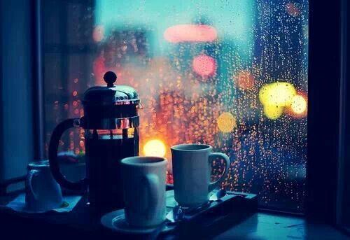 Rainy morning coffee. | Coffee....mmm | Pinterest | Rain ...