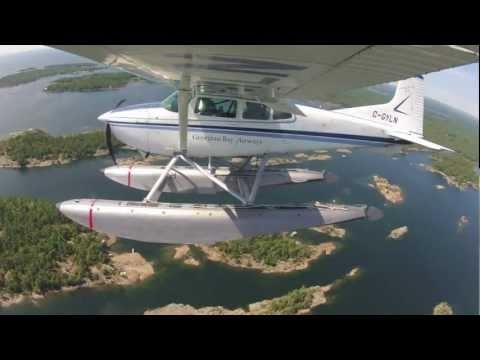 GBA Seaplane lands in the 30,000 Islands
