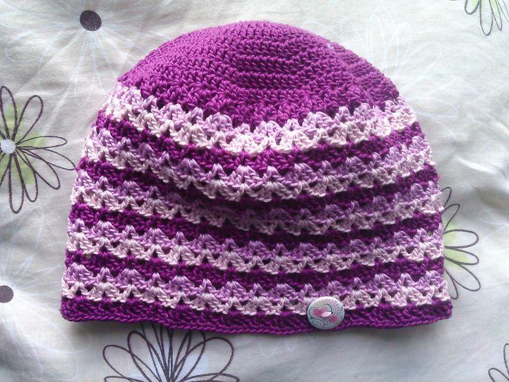 háčkovaná čepice/Crochet cap