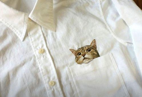 予約で2年待ち!?日本人刺繍作家のhiroko kubotaさんの「ネコシャツ」が海外で大人気!→海外「欲しすぎる!」 海外の反応|海外まとめネット | 海外の反応まとめブログ