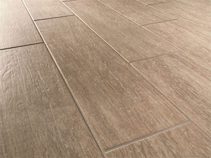 Porcelain stoneware floor tiles with wood effect HABITAT by MARAZZI
