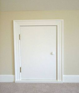 how to build an access door