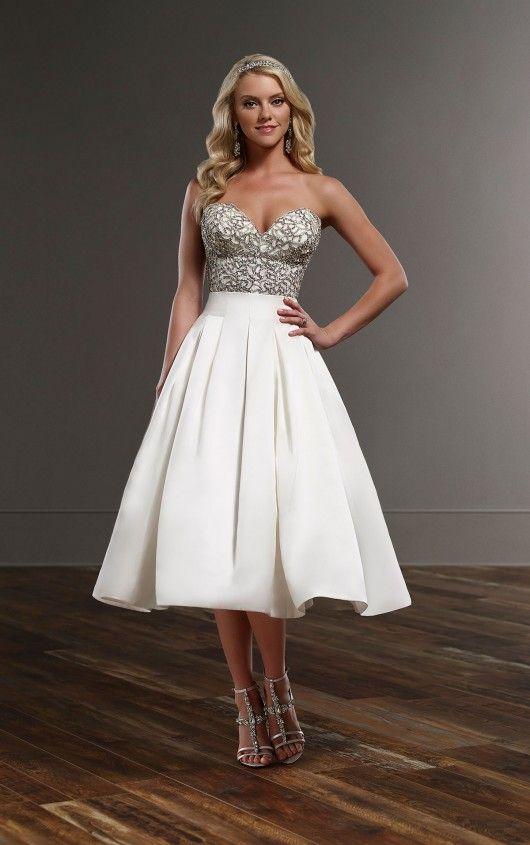 Ciara+Sachi Vintage Wedding Dress Separates by Martina Liana