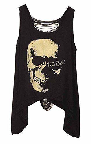 8,99 € - DELEY Mujeres Vintage Punk Skull Tank Tops Espalda Abiert... https://www.amazon.es/dp/B01FVJ8IGW/ref=cm_sw_r_pi_dp_x_3RnIzbG0R2751