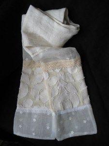 Vintage dresses into scarves