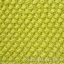 Планета Вязания | Рельефные узоры спицами, схемы вязания.