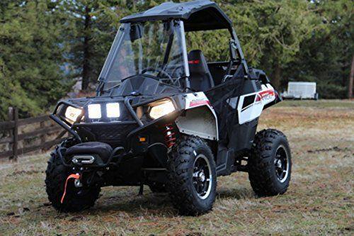 10 X 18W 6.3 inch barre LED spot 1710LM feux lampe à moto quad hors route phare de travail lampe voiture SUV Jeep ATV tracteur pelleteuse…