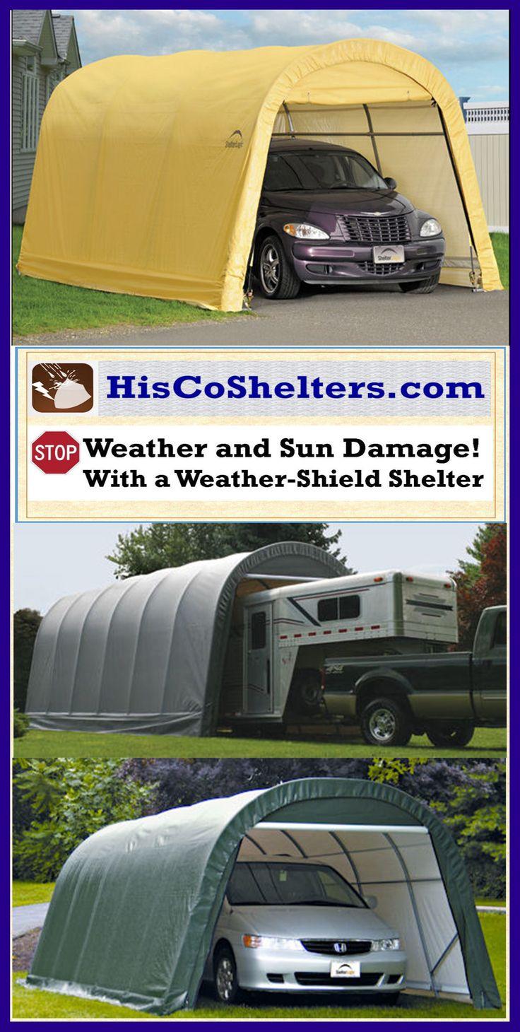 Mobile Garage Trailer : Best portable garage carport shelter accessories images