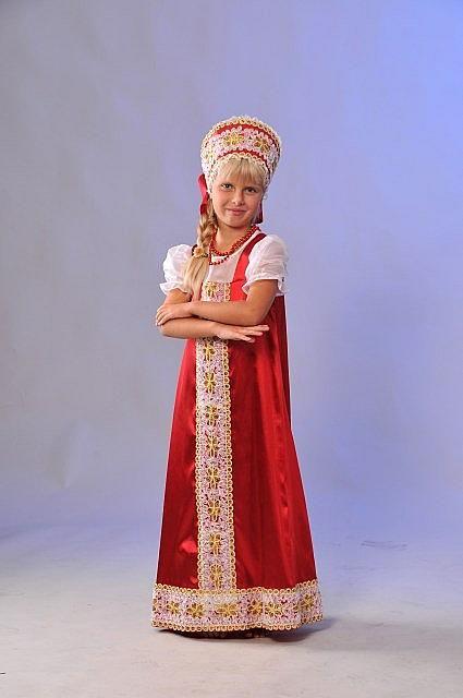 Русский народный красный (большой)