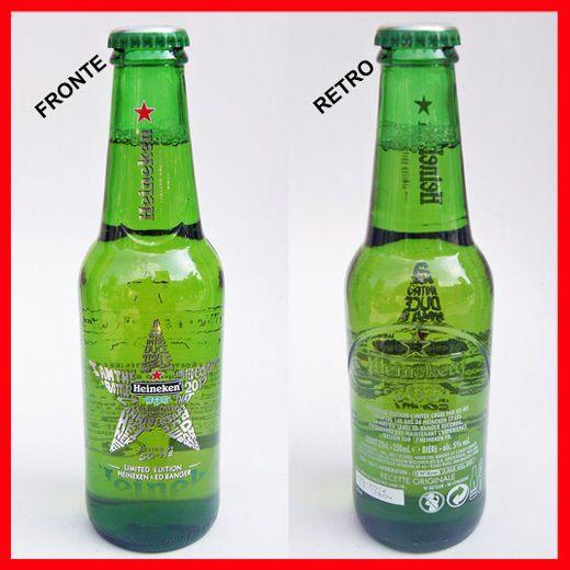 Beer  BOTTIGLIA BIRRA HEINEKEN CL 25 ED LIMITATA 10° ANNIVERSARIO ED BANGER FRANCIA
