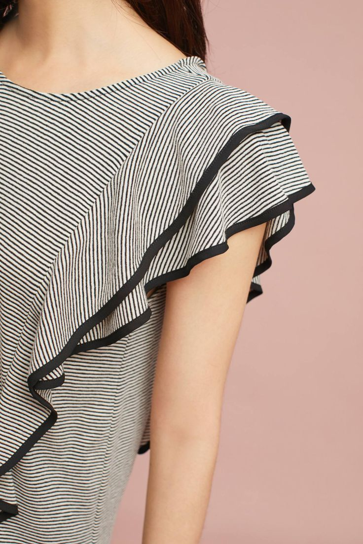Slide View: 2: Estee Ruffled Top