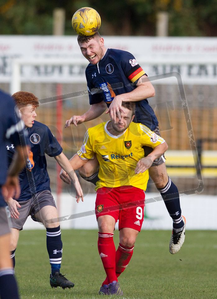 Queen's Park's Ryan McGeever in action during the Ladbrokes League One game between Albion Rovers and Queen's Park.